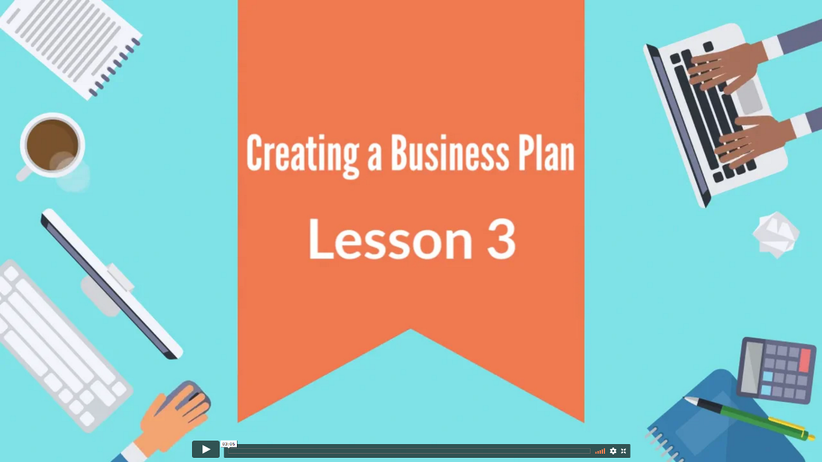 Creating Business Plan 03