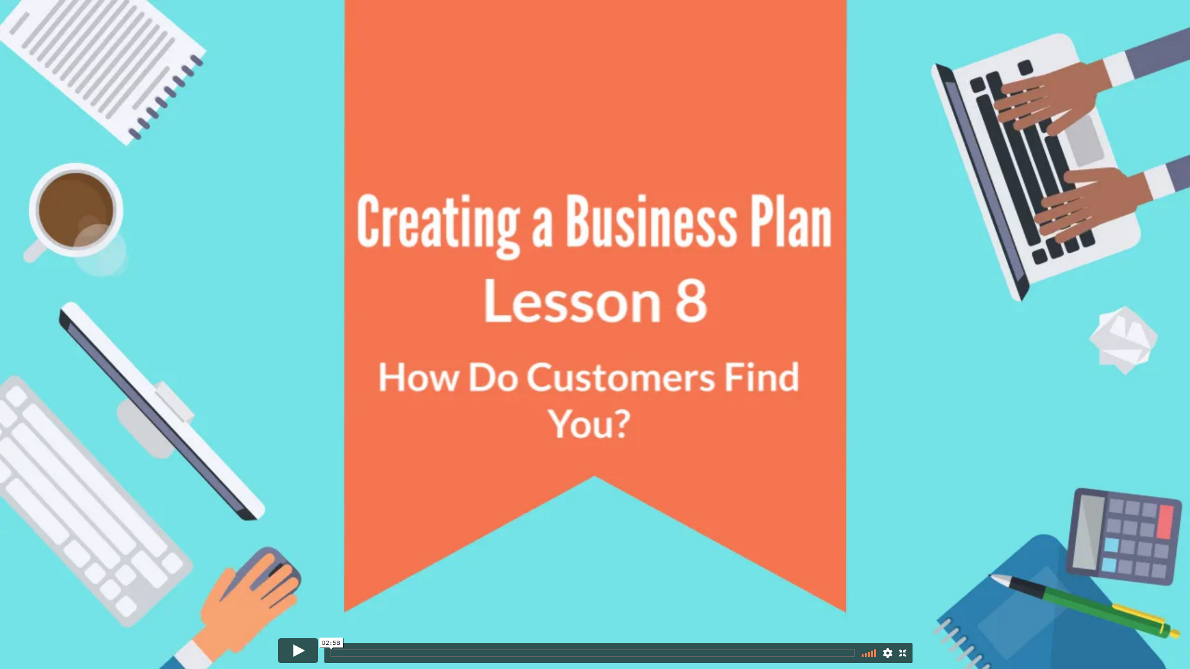 Creating Business Plan 08