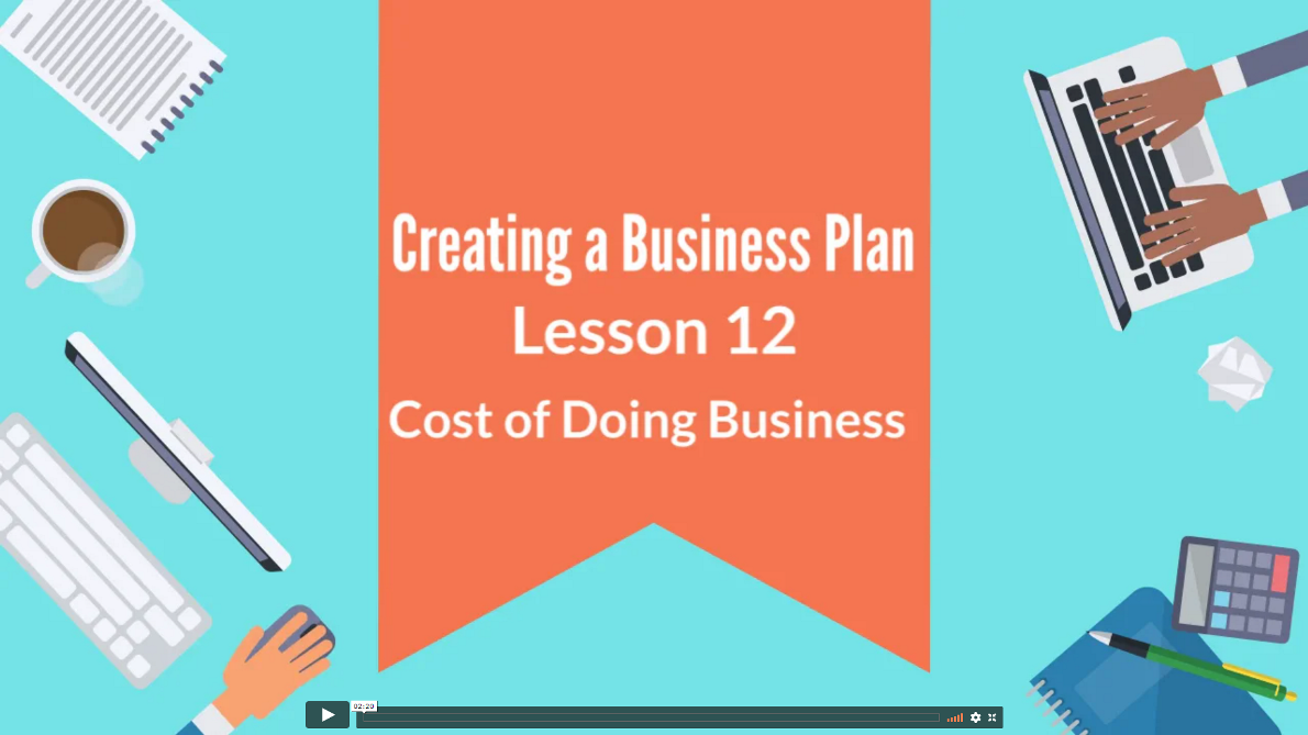 Creating Business Plan 12