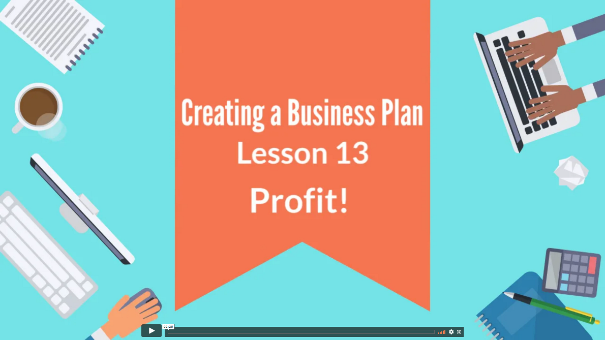 Creating Business Plan 13